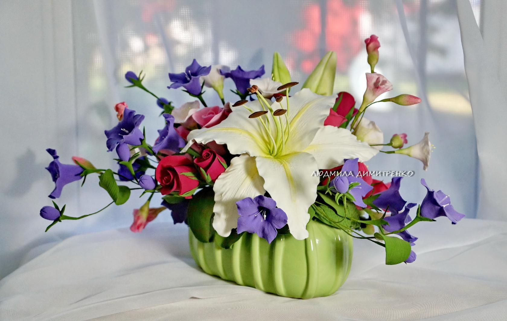 Заказ цветочных композиций