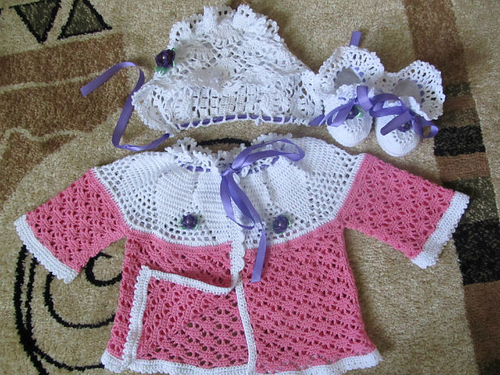 Photo of Комплект для новорожденной девочки