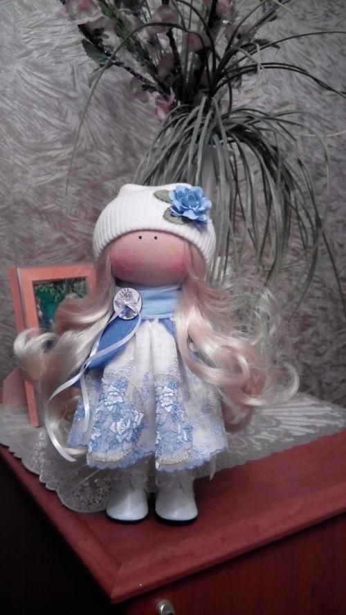Photo of Интерьерная кукла Снежинка