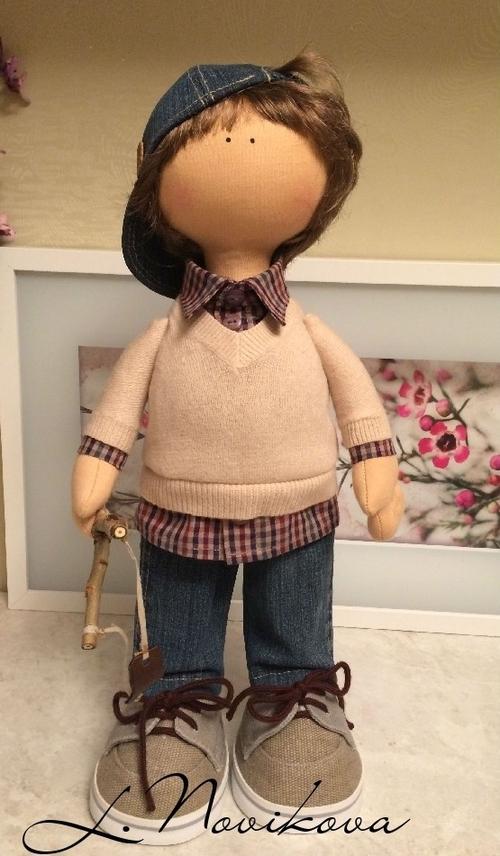 Photo of Интерьерная кукла Мальчик