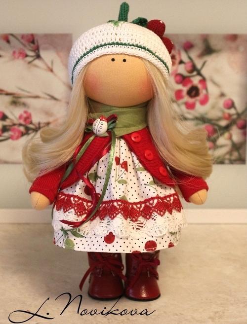 Photo of Интерьерная кукла Вишинка