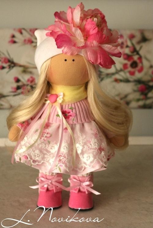 Photo of Интерьерная кукла Амелия