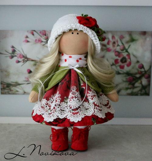 Photo of Интерьерная кукла Луиза