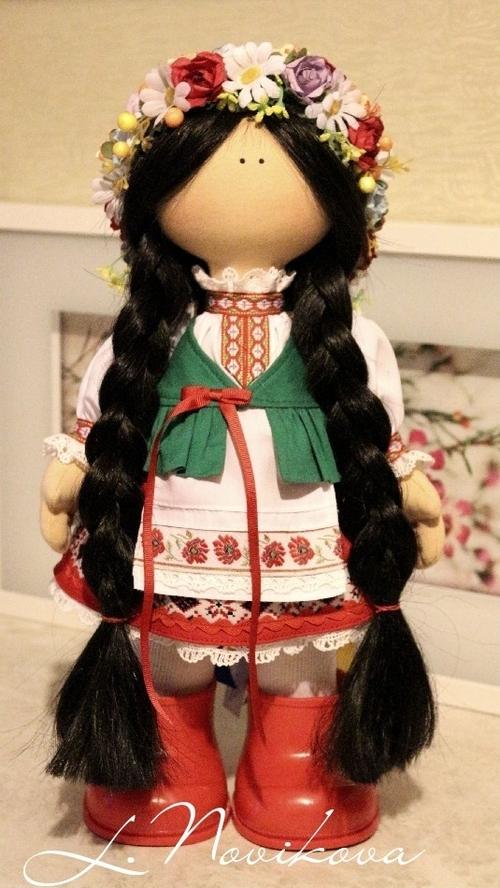 Photo of Интерьерная кукла в национальной одежде