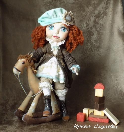 Photo of текстильная куколка - Беатрис