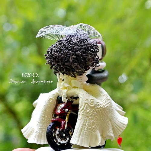 Фото для Свадебня фигурка на торт