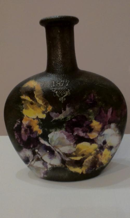 Фото для Бутылка-ваза интерьерная. Декупаж.