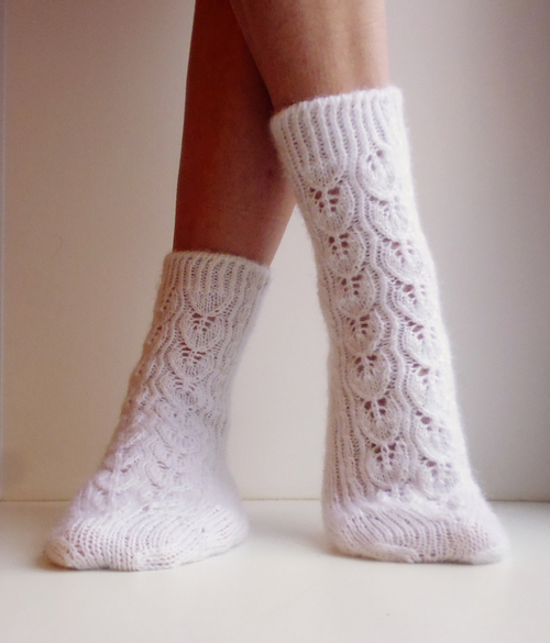 Photo of носки ажурные
