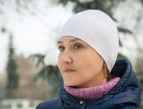 Photo of Шапка белая