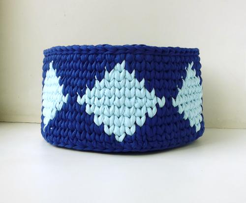 Фото для корзина сине-голубая