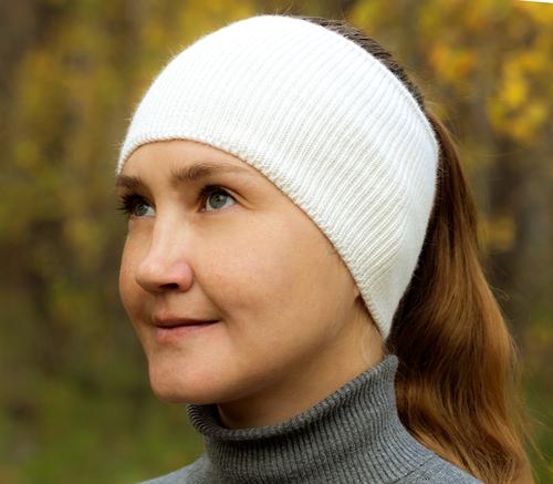 Фото для повязка на голову белая