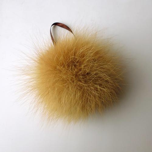Фото для помпон из натурального меха лисы рыжей