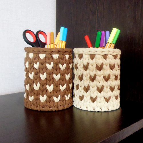Фото для Комплект корзинок-карандашниц
