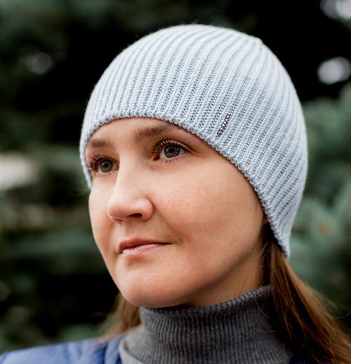 Photo of шапка голубая