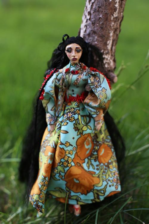 Фото для Интерьерная кукла Шейла