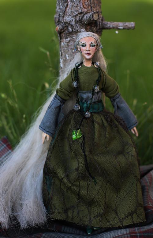 Фото для Интерьерная кукла Айрин