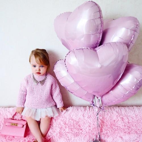 Фото для Джемпер Over Size ручной вязки розовый