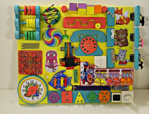 Фото для 67 Бизиборд - развивающая игрушка. В наличии.