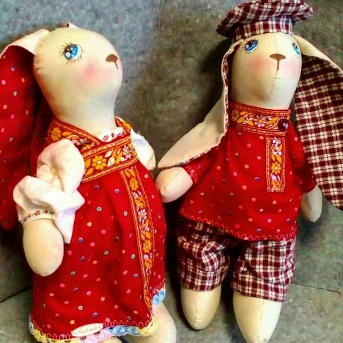 Фото для парочка зайцев в костюмах