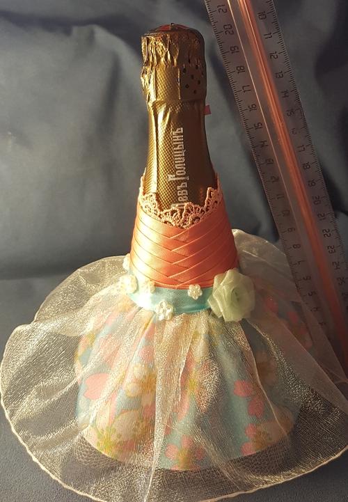 Фото для Мини бутылочки в платьях