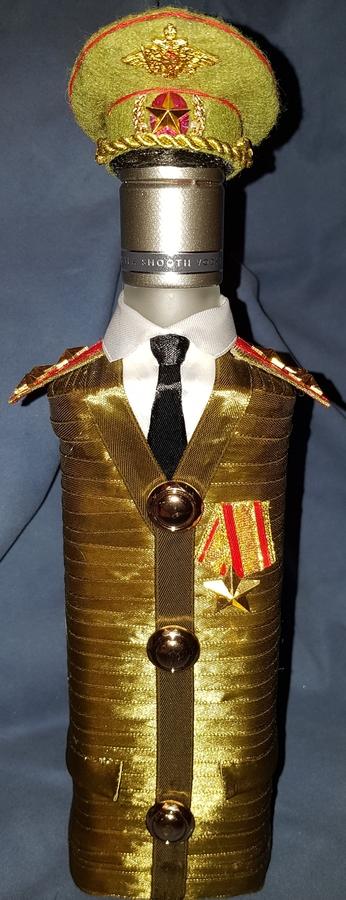 Фото для Бутылка военный-полковник