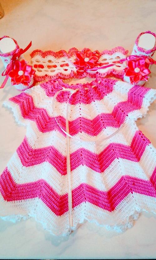 Фото для комплект из хлопка,на 0-3 месяца.платье,пинетки,повязка