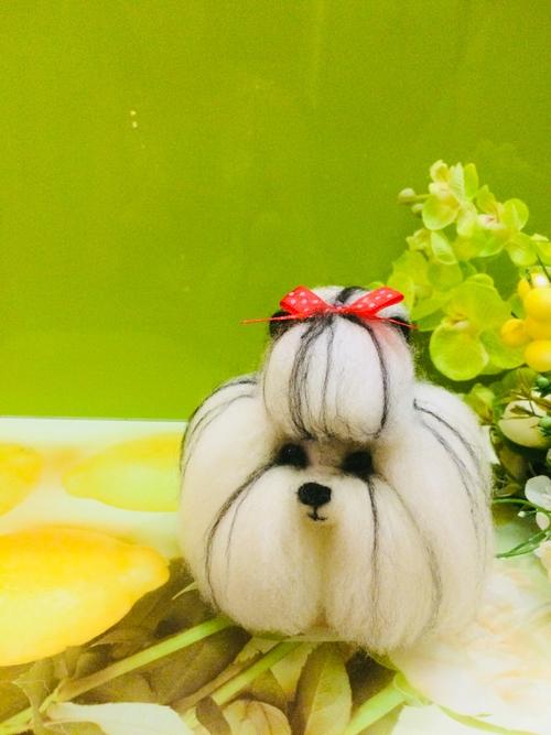 Фото для A dog on order, a realistic felt dog, a dog with a felt, wool dog, made to order,