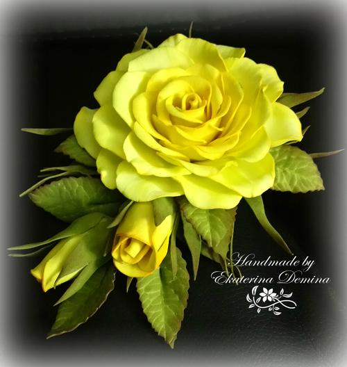 Фото для Желтая роза