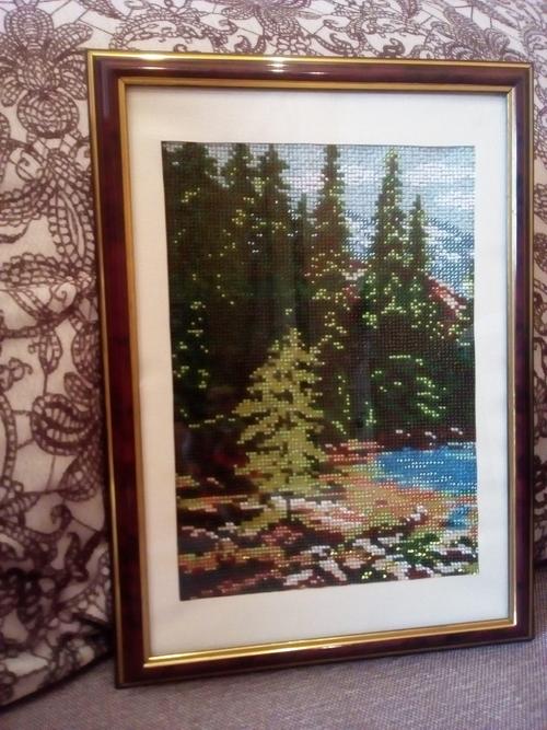 Фото для Картина из бисера.