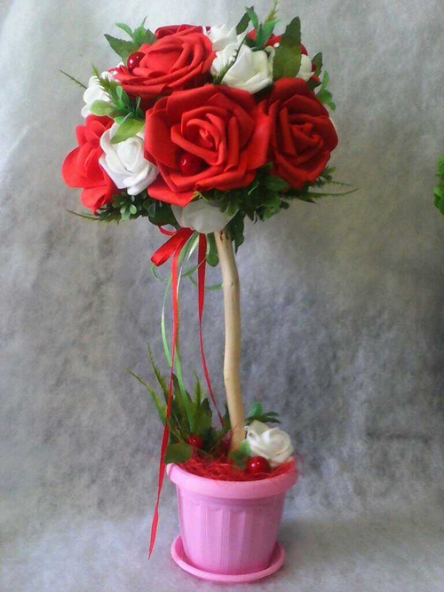 Фото для Топиарий-Красные розы.