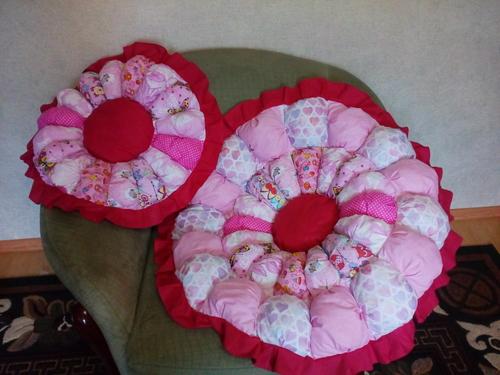 Фото для Розовое бомбон одеяло для девочки