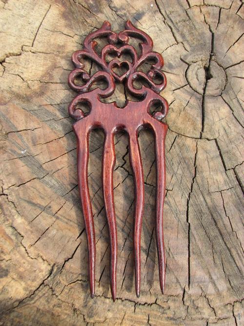 Фото для Гребень деревянный