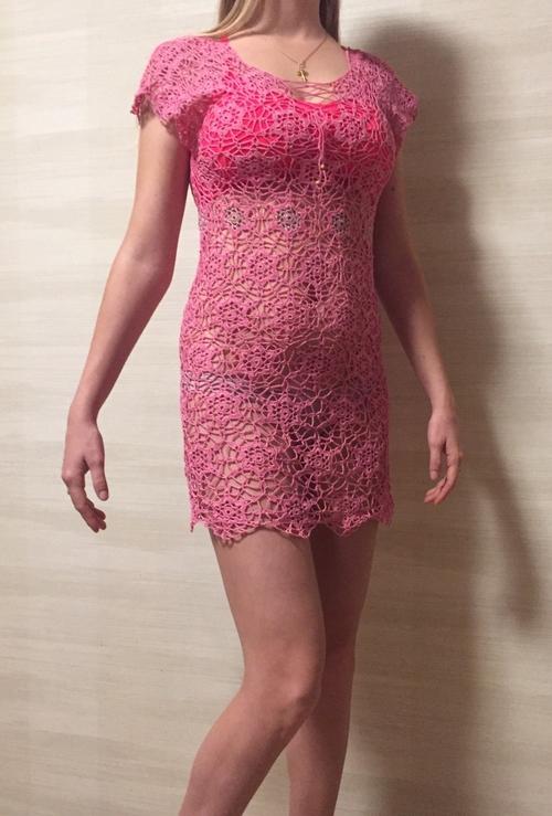 Фото для Пляжное платье ,,Pink time,,