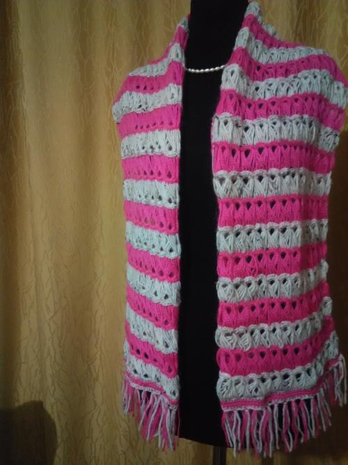 Фото для Шарфик ,,Модная зимушка,, Перуанское вязание.