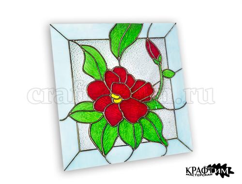 Фото для Витраж Цветок лотоса