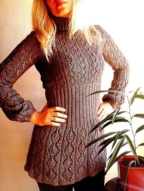 Фото для Платье вязаное