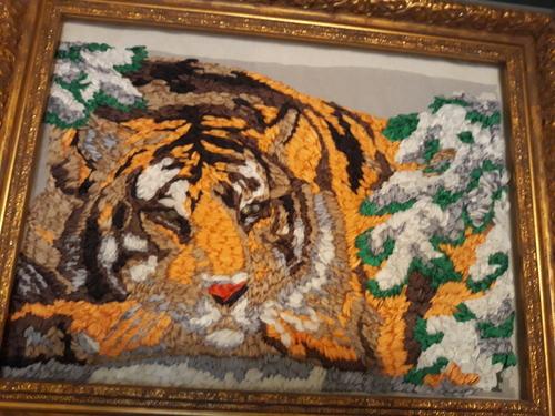 Фото для Тигр в горах