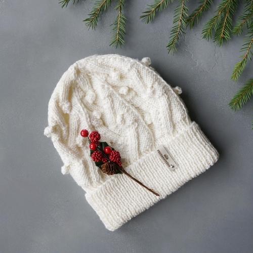 Фото для Вязаная шапка