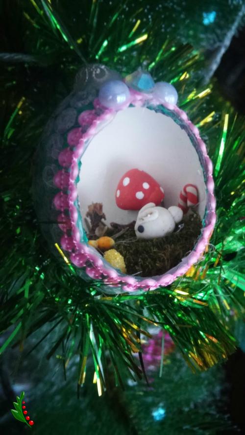 Фото для Елочная игрушка( мини мир)