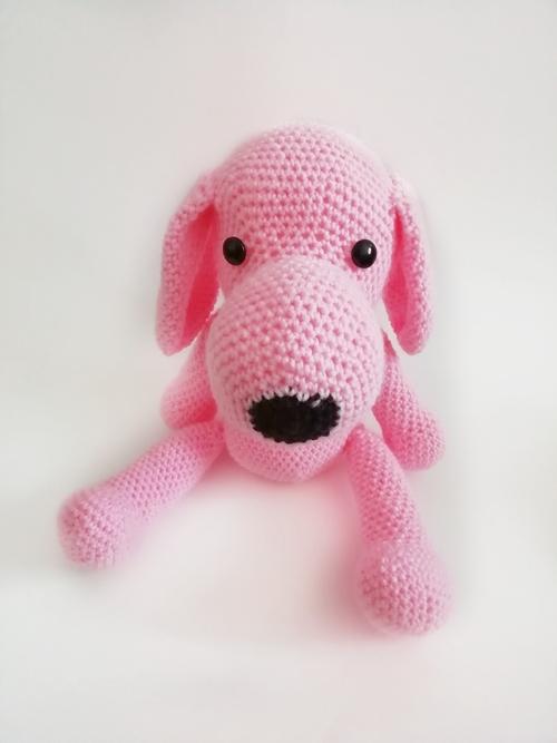 Фото для Розовая собачка