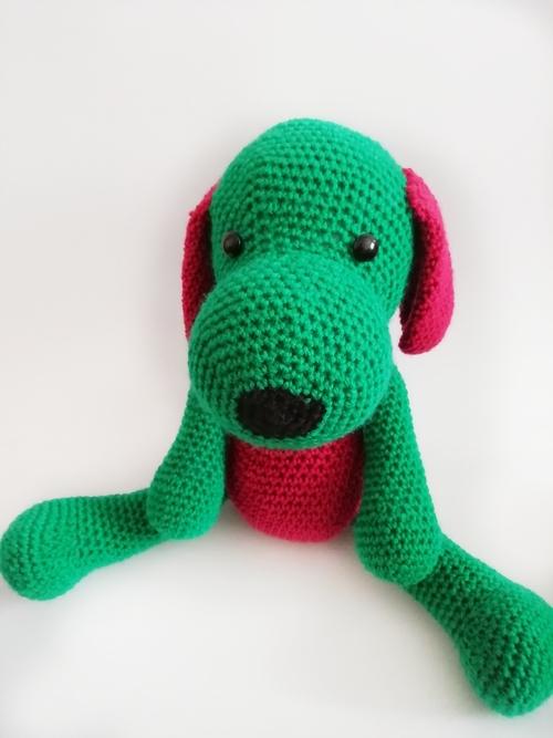 Фото для Красно - зелёная собачка