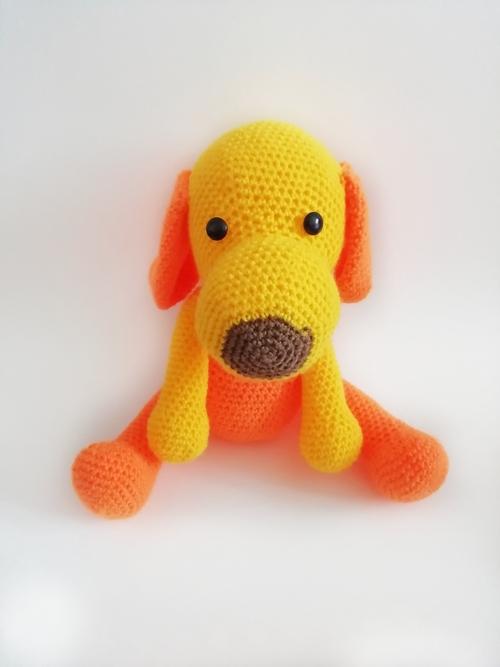 Фото для Желто - оранжевая собачка