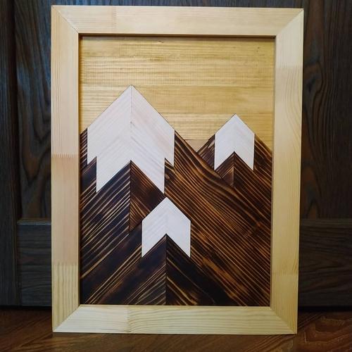 Фото для Панно деревянное