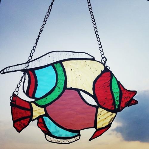 Photo of Оконная подвеска рыбка