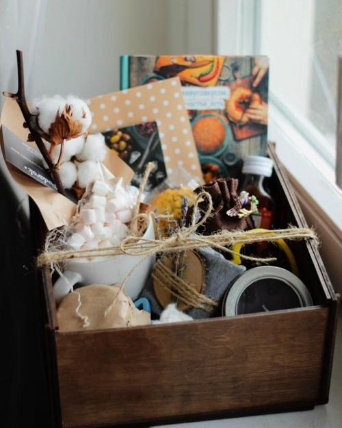 Photo of Открытый набор в деревянном ящике
