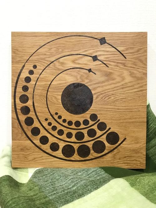 Photo of Декоративное панно из дерева