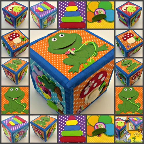 Фото для Развивающий кубик