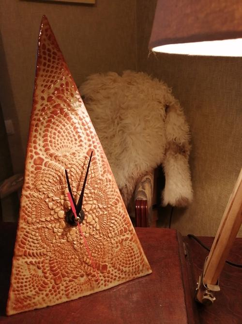 Photo of Интерьерные часы «Пески времени». Ручная работа, глина.