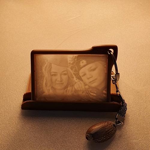Photo of Брелок-литофан на заказ по Вашим фотографиям