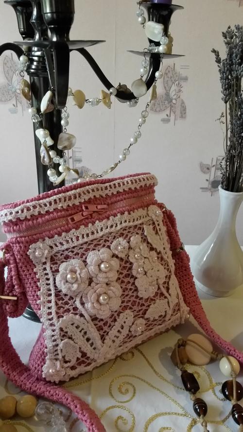Фото для Летняя вязаная сумочка